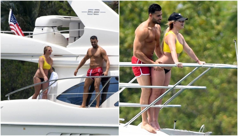 Britney i dečko se u kupaćim kostimima 'zaigrali' Titanica