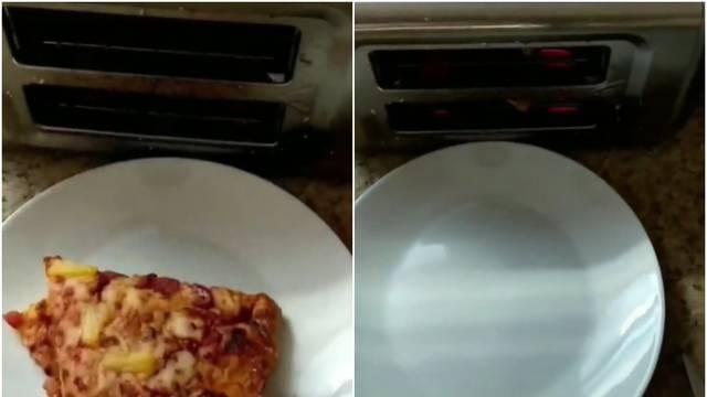 Hit TikToka: Muškarac otkrio ludi način na koji on grije pizzu
