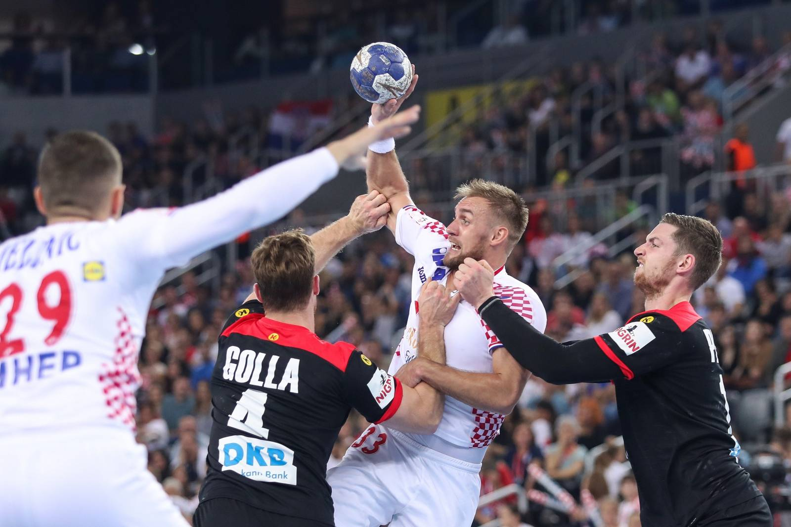 U Areni Zagreb odigrana je prijateljska rukometna utakmica između Hrvatske i Njemačke