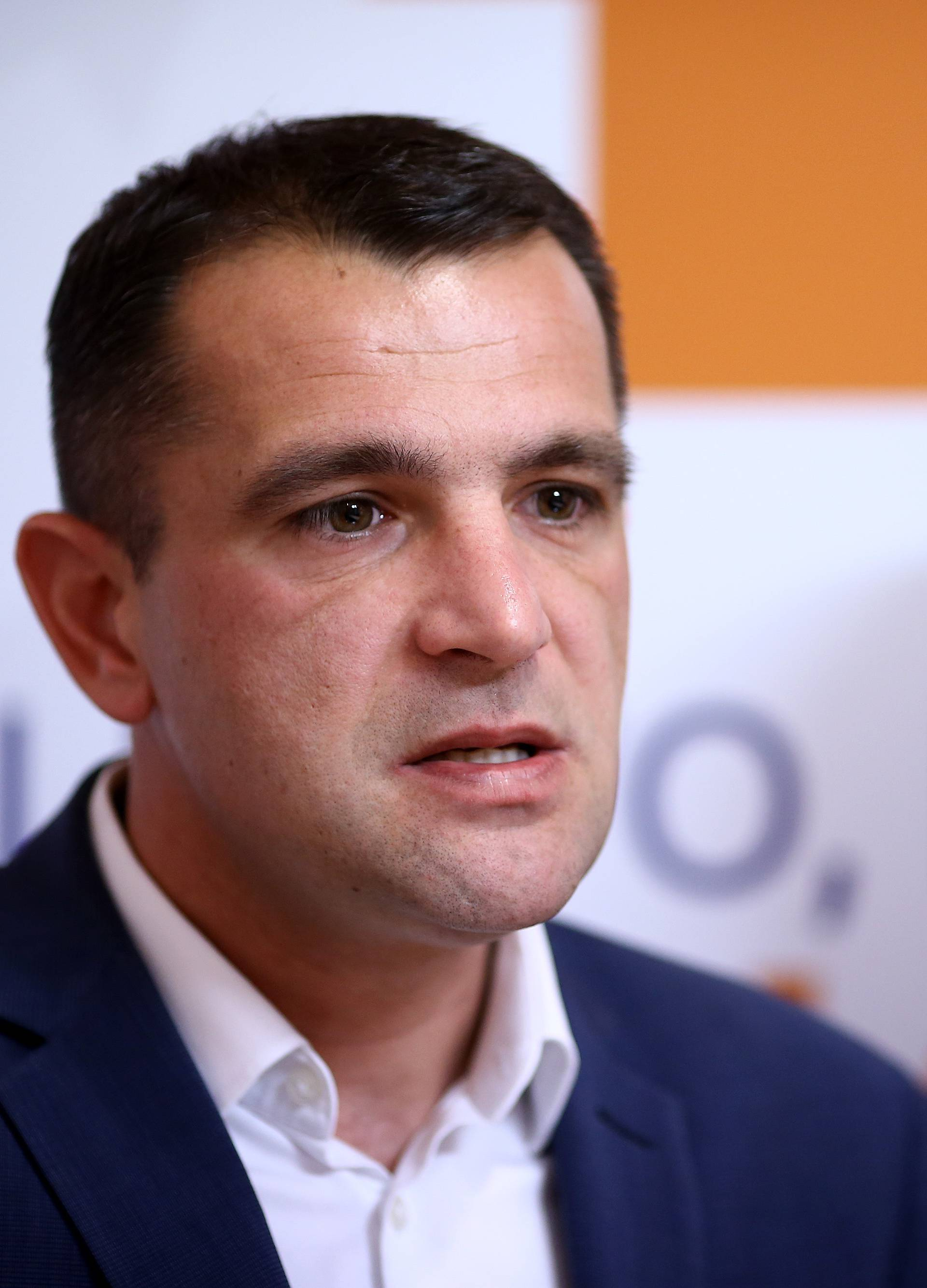 Zagreb: HNS-ov Matija Posavec predstavio izborni program za Europski parlament