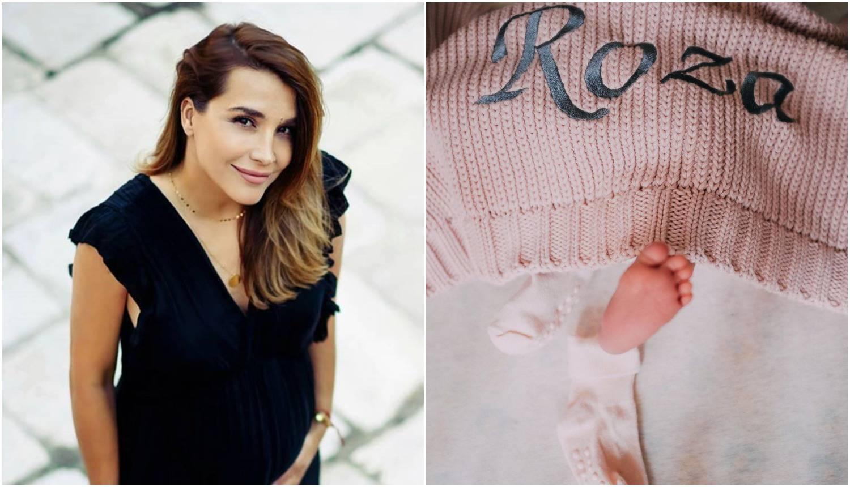 Marijana Batinić objavila prvu fotku kćeri, nazvala ju je Roza