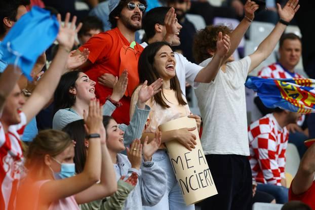UEFA Under 21 Championship - Quarter Final - Spain v Croatia