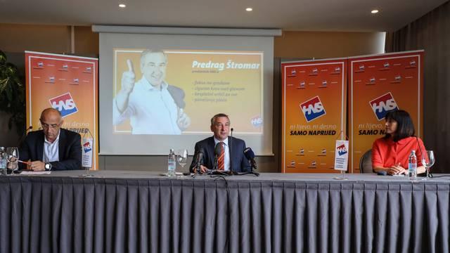 """Zagreb: Predstavljanje Izbornog programa HNS-a """"Hrvatska se voli radom"""""""
