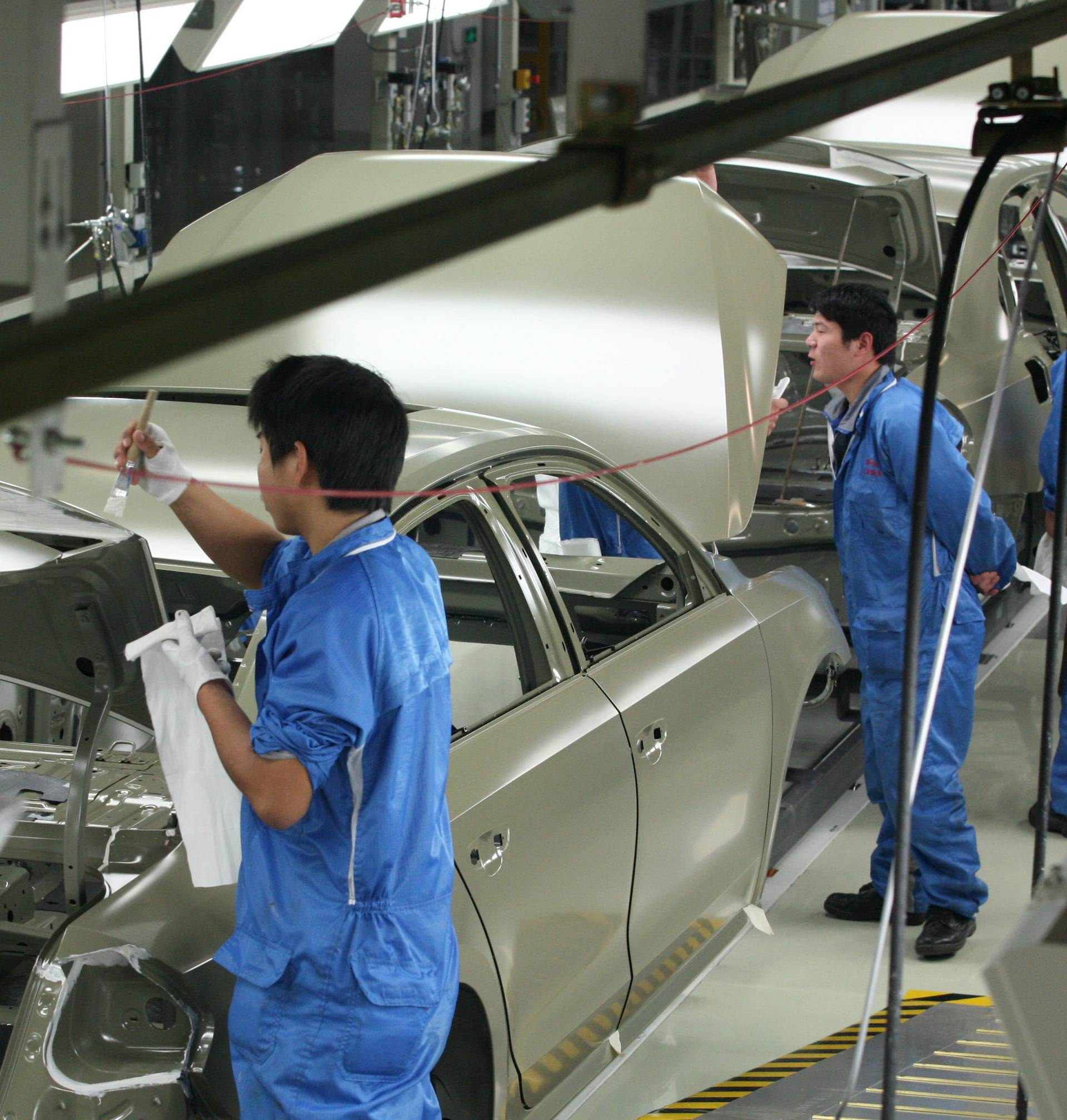 Production at Duerr in China