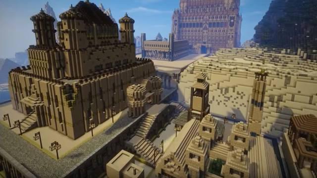 Vrijedilo je: Impresivno carstvo u Minecraftu gradi pet godina