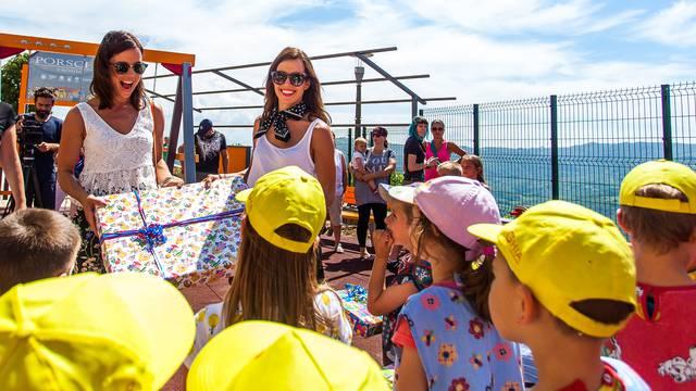 Reprezentativke Zaninović svečano otvorile dječje igralište