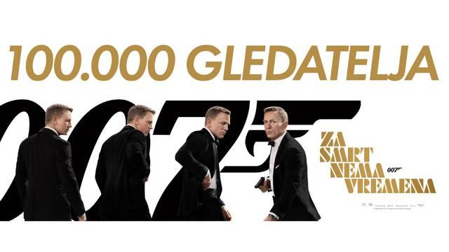 Novi film o Jamesu Bondu ruši sve rekorde. Već ga je pogledalo 100.000 gledatelja