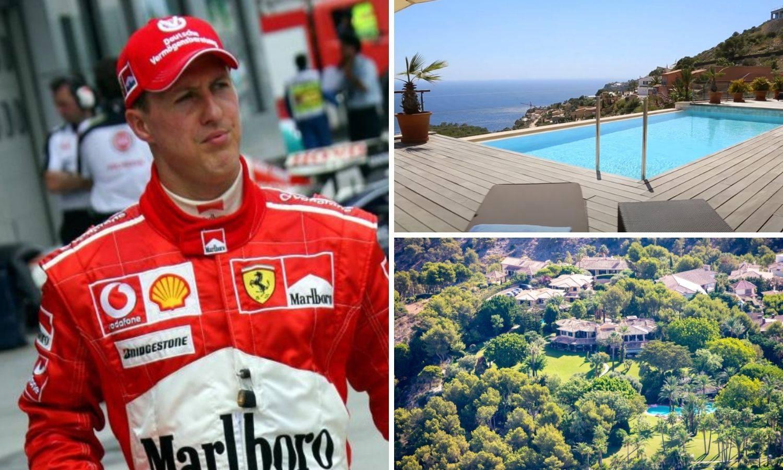 Pogledajte luksuznu vilu u koju je preselio Schumacher: 'Samo ga troje ljudi smije posjetiti...'