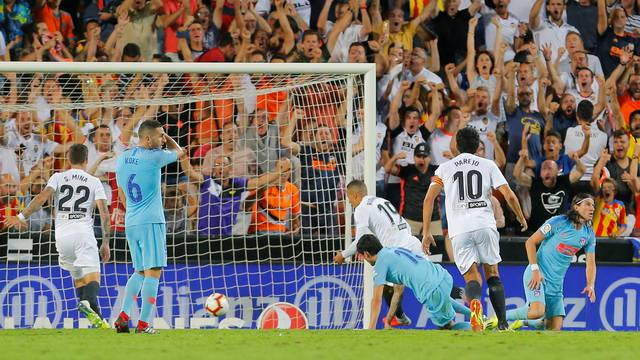 La Liga Santander - Valencia vs Atletico Madrid