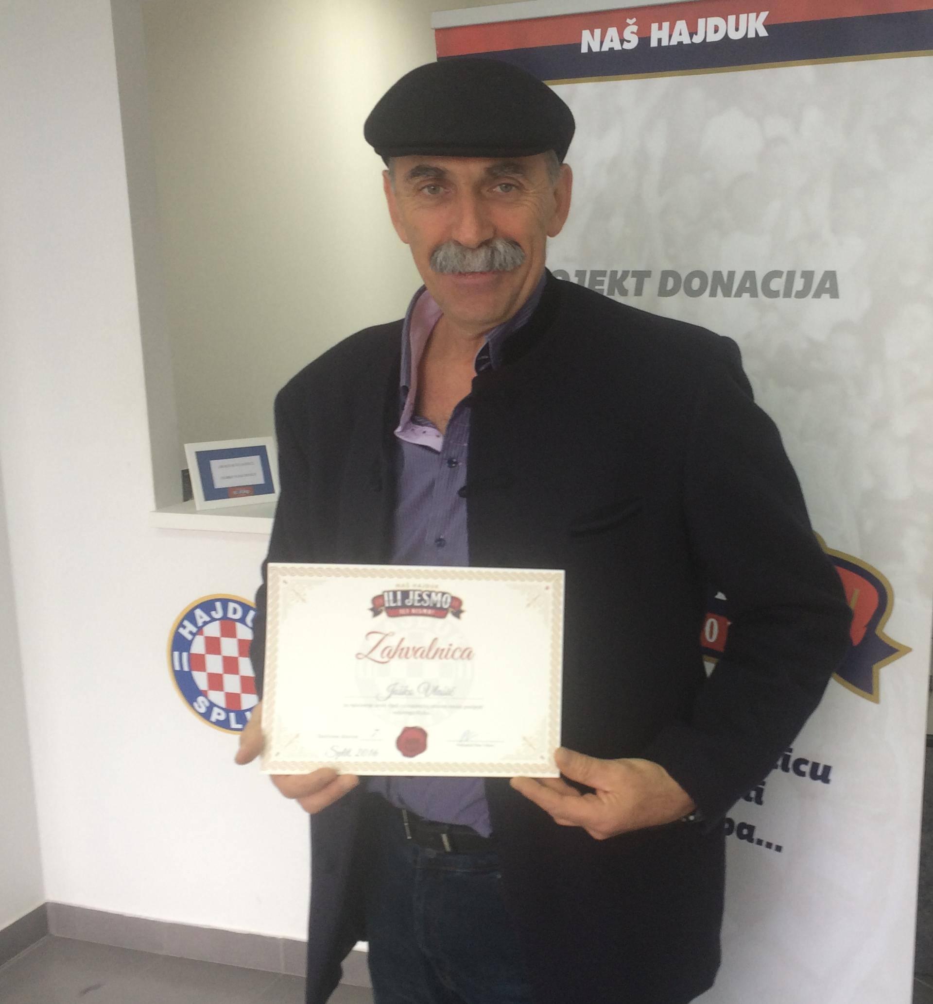 Vlašić: Hajduk mora biti simbol otpora, ima nas i možemo to...