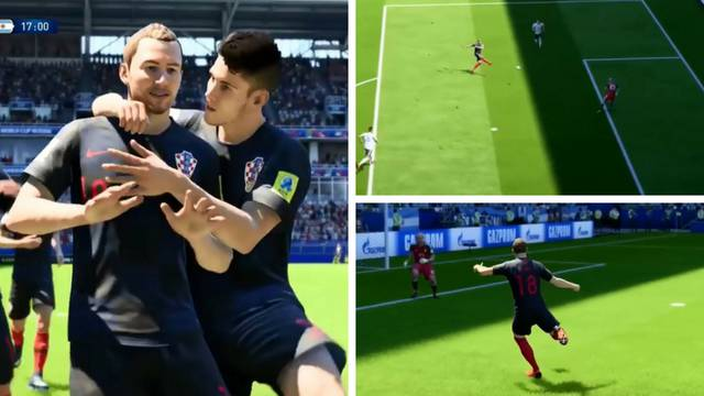 Rekonstruirao je spektakularan Rebićev gol na popularnoj Fifi