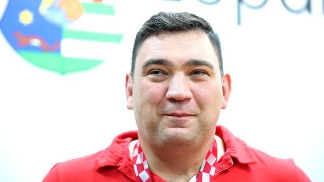 Župan Kožić primio bacača diska Velimira Šandora, osvajača srebrne medalje na POI u Tokiju