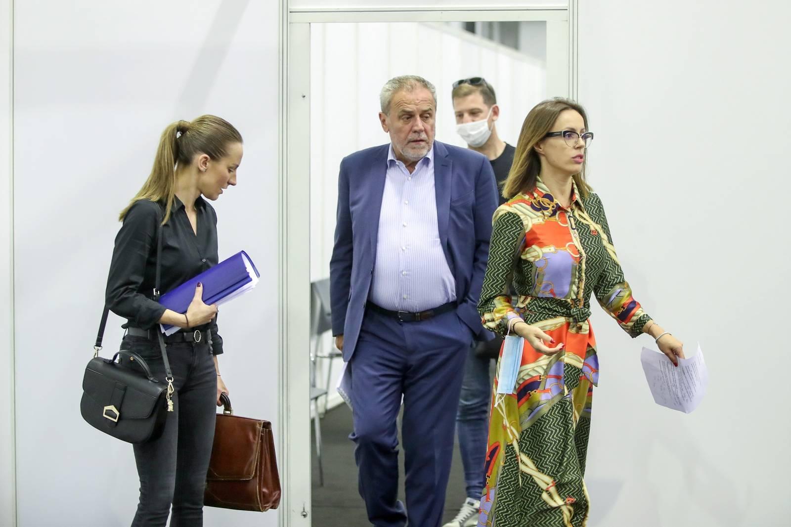 Konferencija za medije Stožera civilne zaštite grada Zagreba