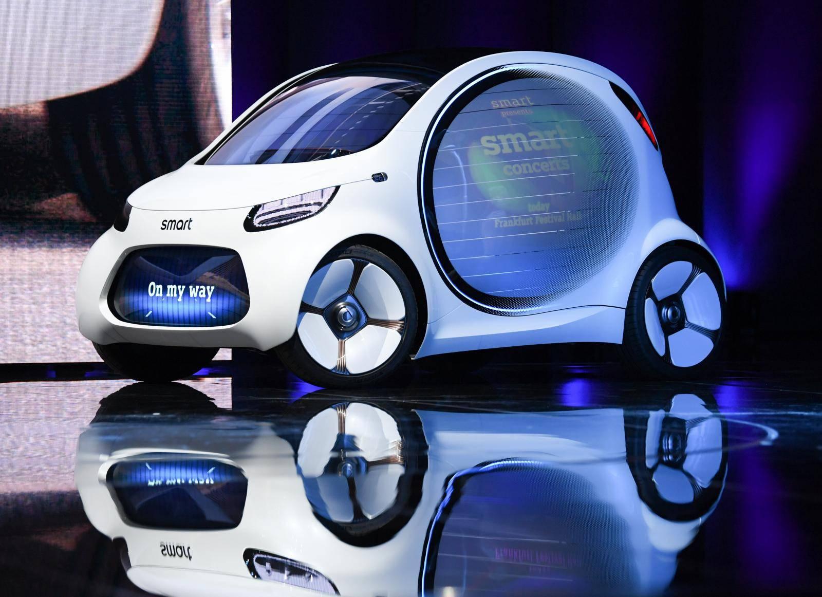 International Motor Show in Frankfurt/Main - Smart vision
