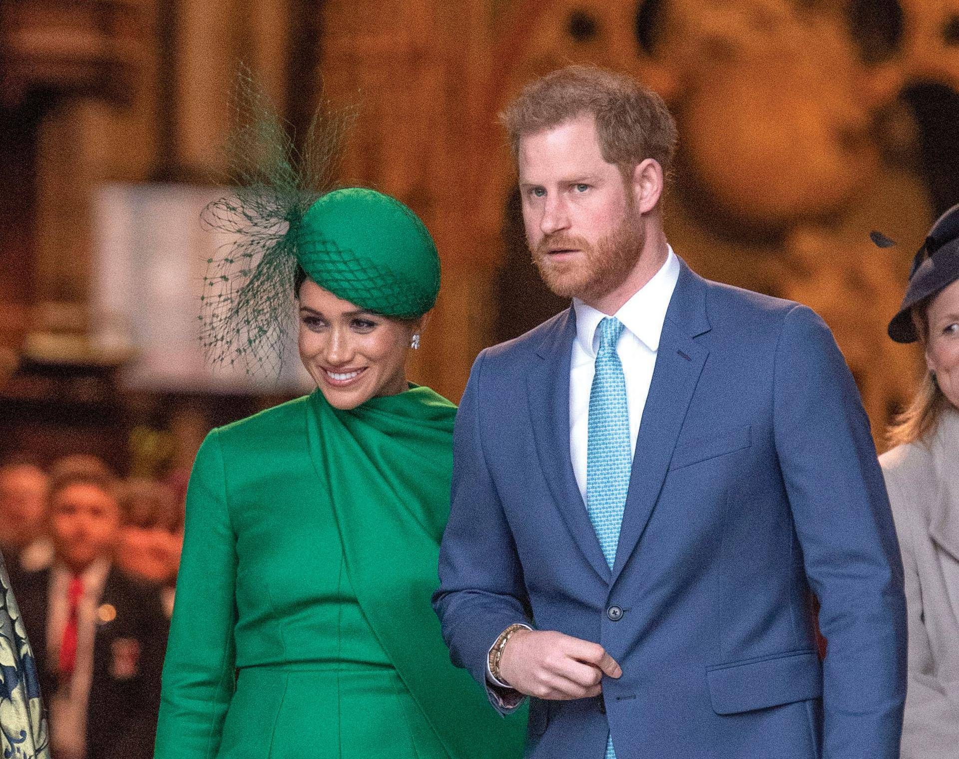 Members Of The Royal Family Attend The Commonwealth Service At Westminster Abbey