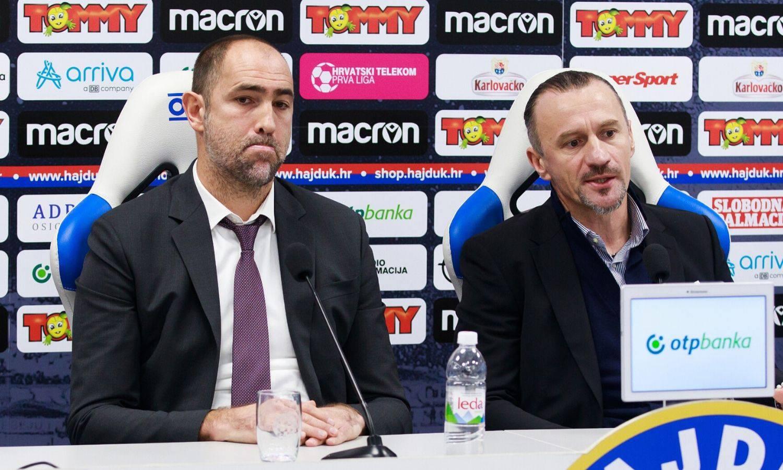 Brbić i Tudor uzeli su time-out, imaju podršku, sami odlučuju hoće li ostati ili otići iz Hajduka!