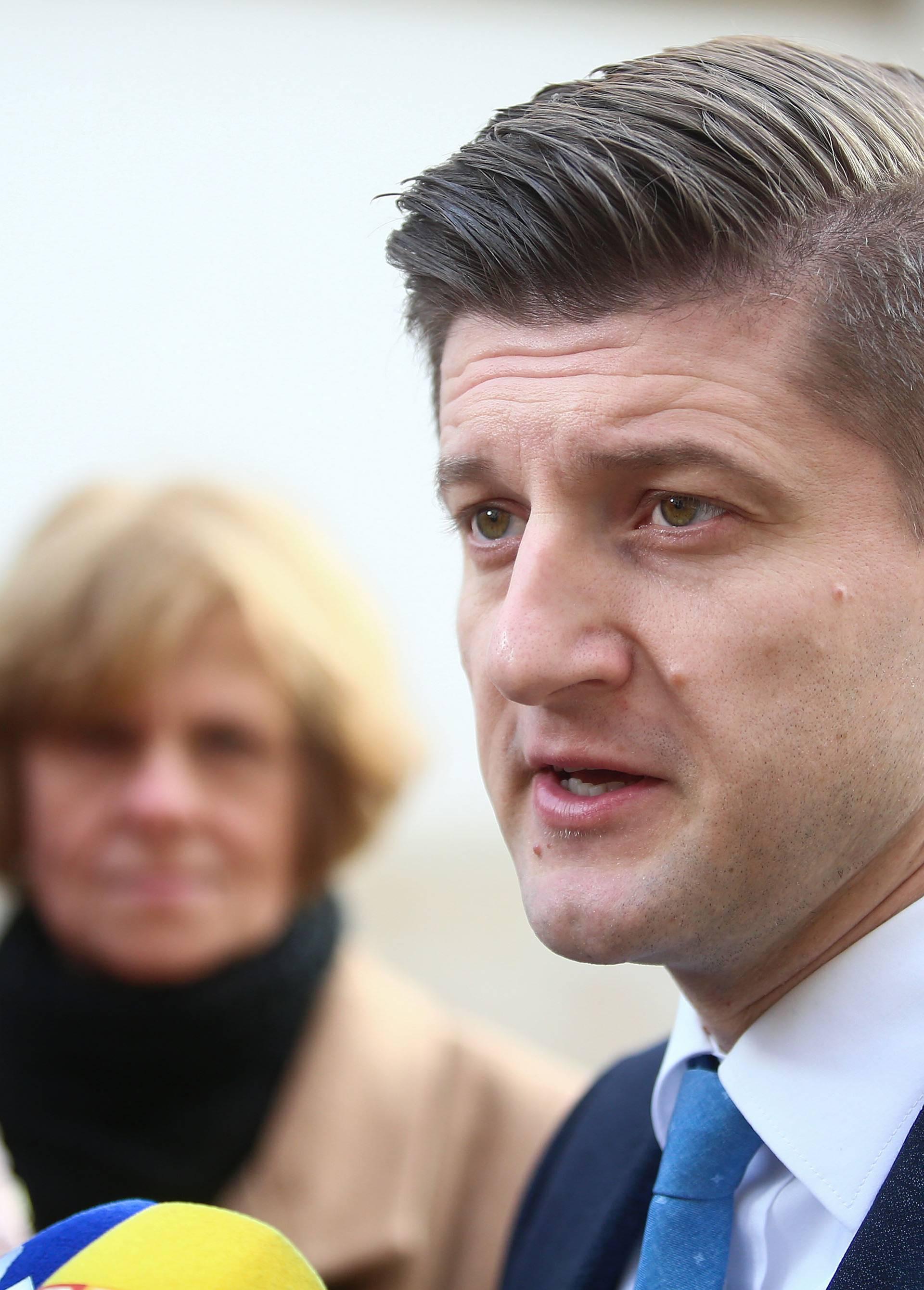 Zagreb: Dolazak ministara na 199. sjednicu Vlade RH