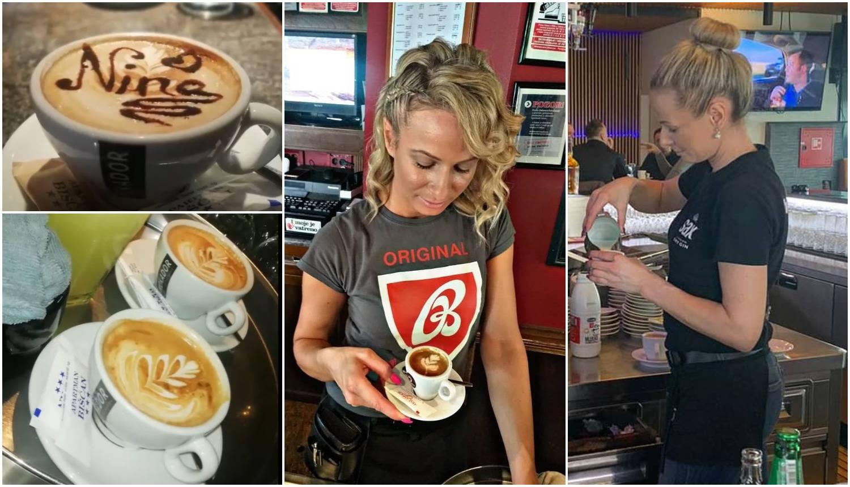Nikolina je majstorica za kave: Pokazala je uratke u šalicama