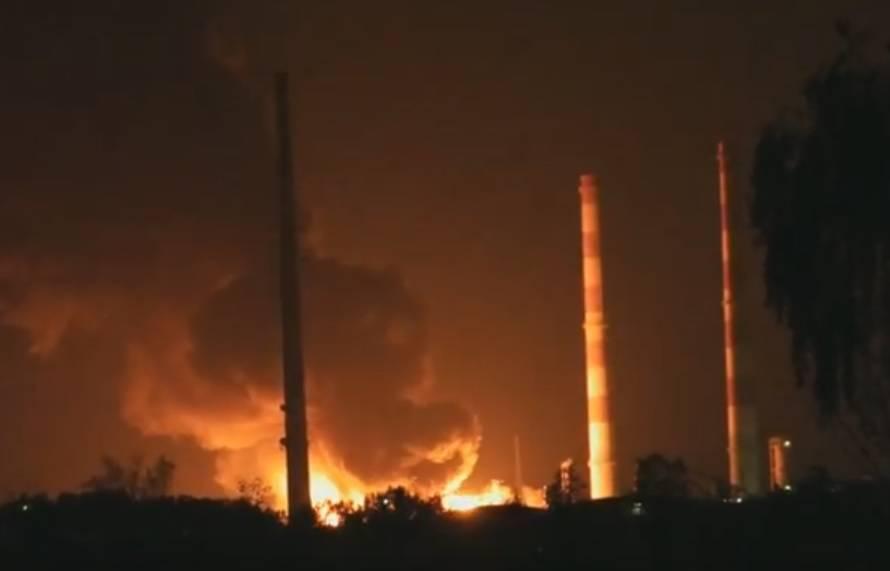 Eksplozija u rafineriji nafte: Evakuirali su 1800 stanovnika