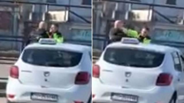 Video tučnjave iz Sesveta: Htio je redaru ugurati kaznu u usta!