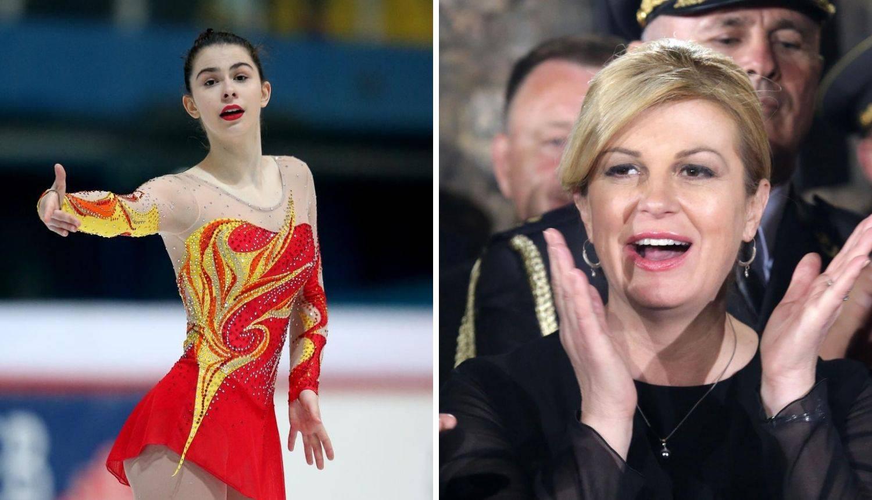 Kolinda se oprostila od kćeri na 'fejsu': 'Leti visoko, Sokolice...'