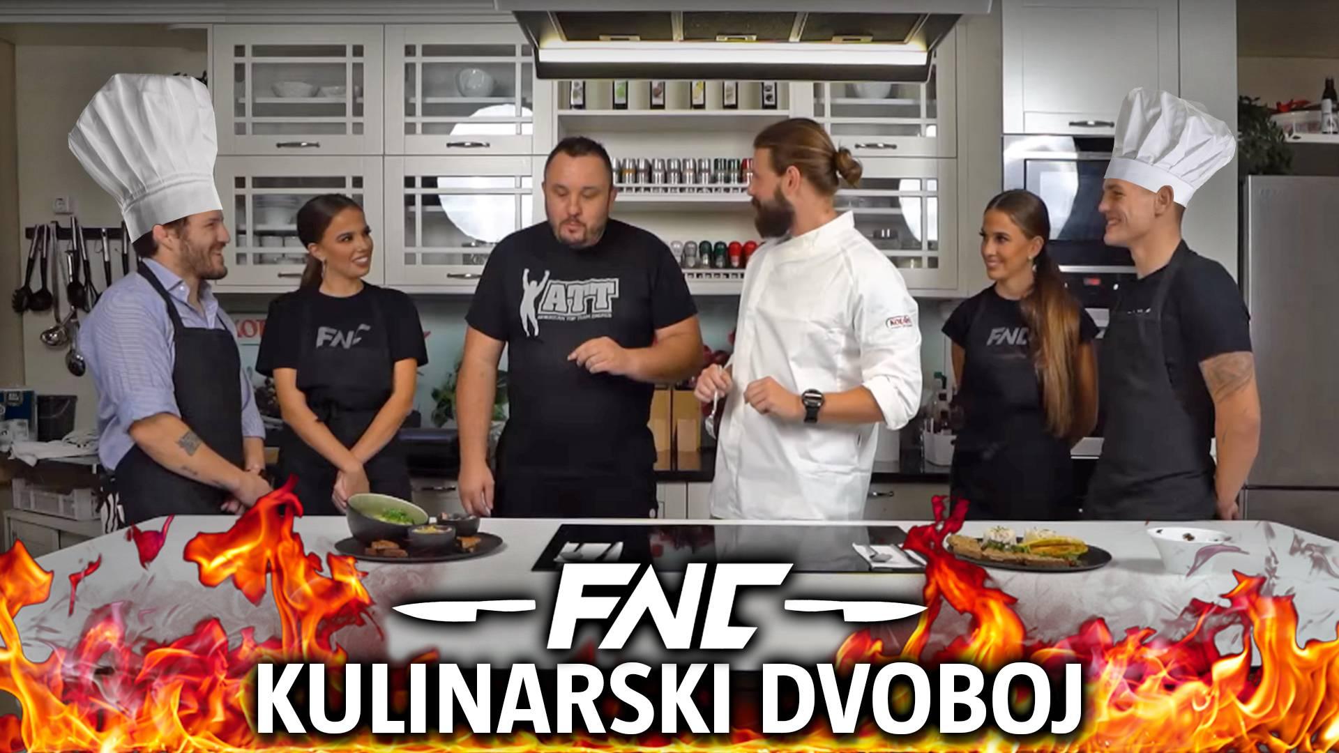 MMA dvoboj  u kuhinji! Croata i Patrik Čelić zajedno s curama iz ringa spremali  zdravi obrok...