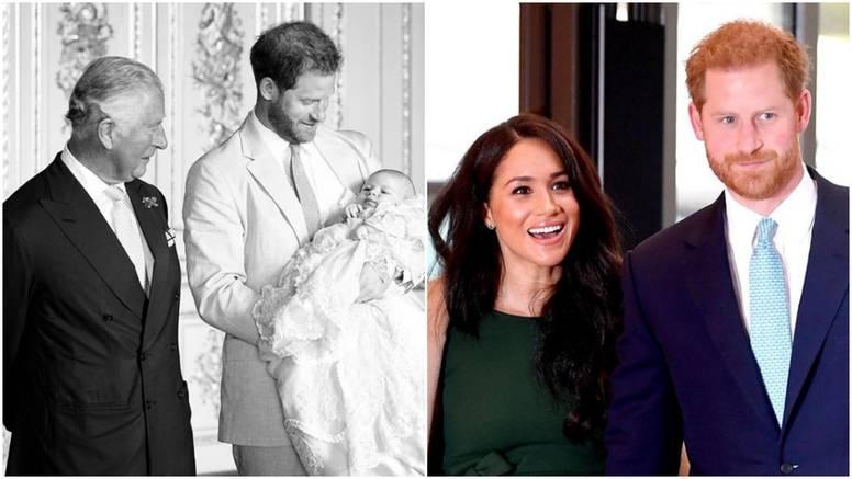 Nikad viđena fotografija: Harry i Meghan raznježili su Charlesa