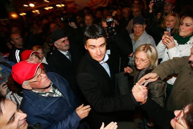 'Procurile' fotografije: Ovako je Tia Mamić izgledala 2007. na predizbornom skupu SDP-a...