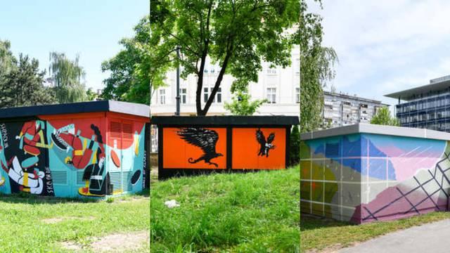Zagrepčane iznenadili prekrasni murali na nekoliko lokacija: Doznali smo tko stoji iza njih