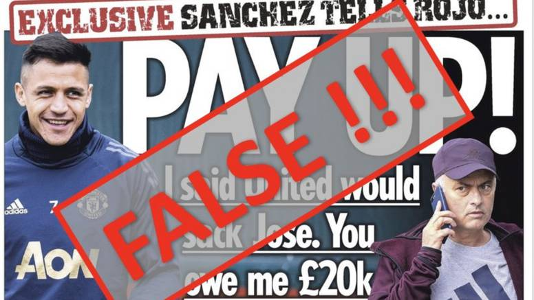 Sanchez: Klađenje je laž! Jose mi je dao šansu, poštujem ga...