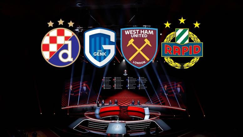 Dinamo opet ide na Otok! Genk, West Ham i Rapid u grupi EL-a