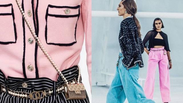 Chanel svijet u bojama roze i plave, uz veste i majušne torbe