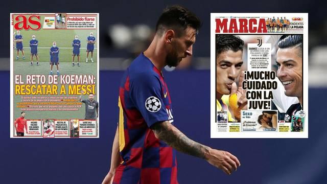 Messi popustio: Pognute glave vraća se na trening Barcelone