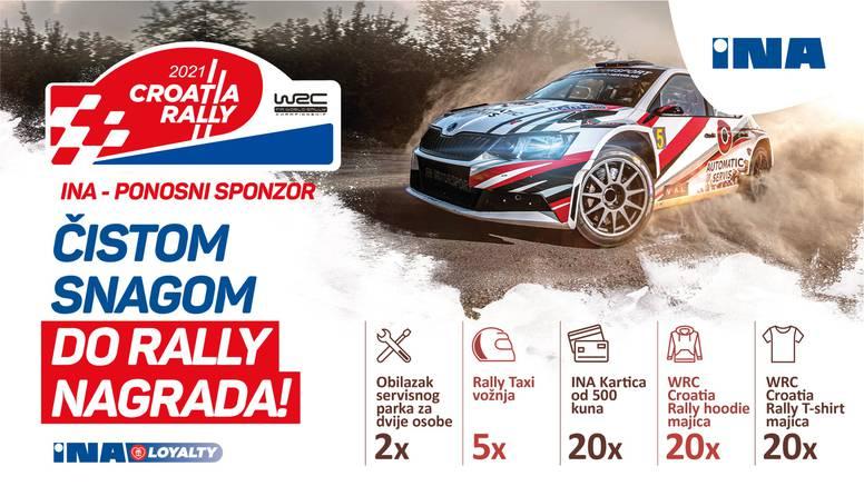 Svjetski automobilistički spektakl WRC Croatia rally 2021. stiže u Hrvatsku!