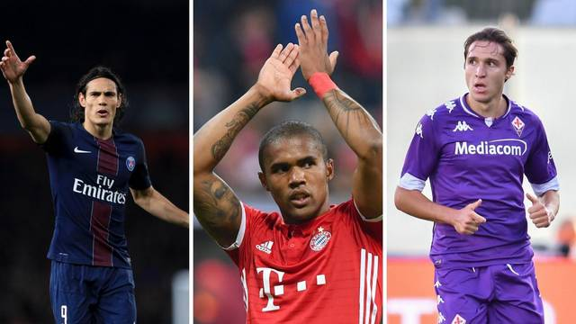 Ovo su najveći transferi zadnjeg dana prijelaznog roka: Cavani je nova zvijezda Man. Uniteda