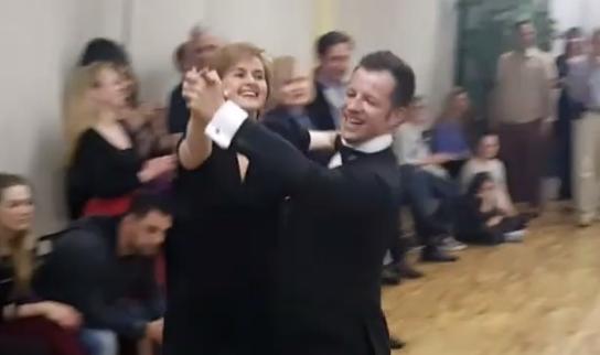 Sandra Švaljek pokazala zaista impresivne plesačke vještine