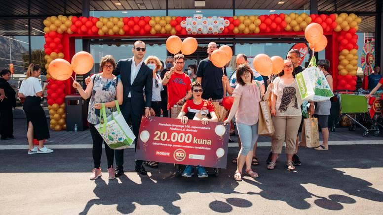 Plodine okrunile svoj rad otvaranjem jubilarnog 100. supermarketa u Hrvatskoj