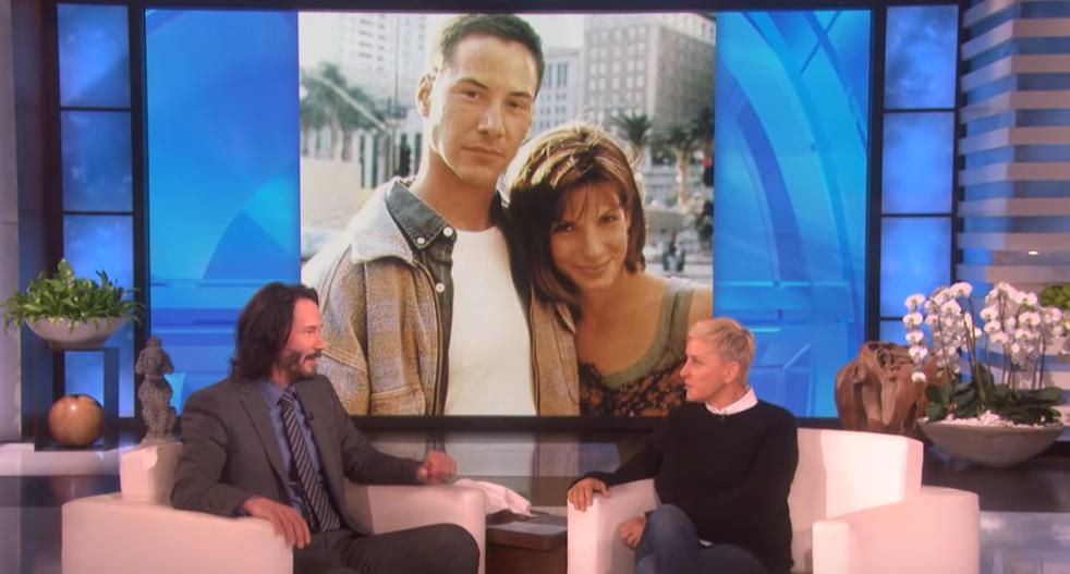 Keanu Reeves priznao da je bio zaljubljen u Sandru Bullock...