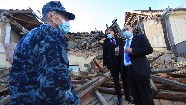 Posljedice razornog potresa u Petrinji i okolici