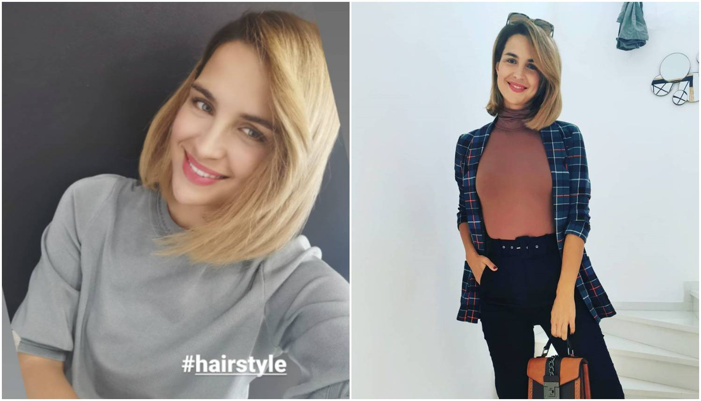 Doris Pinčić ima novu frizuru: 'Super ti je, lijepa si kao lutka'