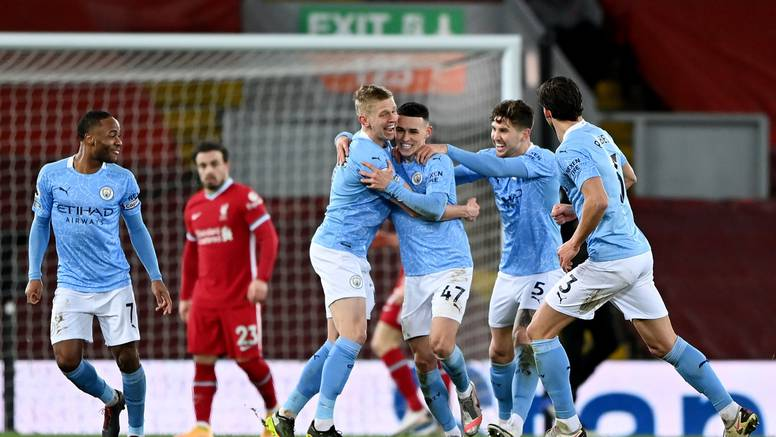 Klopp predao titulu? Uraganski City razbio 'redse' na Anfieldu