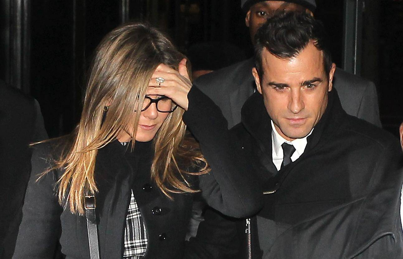 Jennifer Aniston and Justin Theroux out in New York