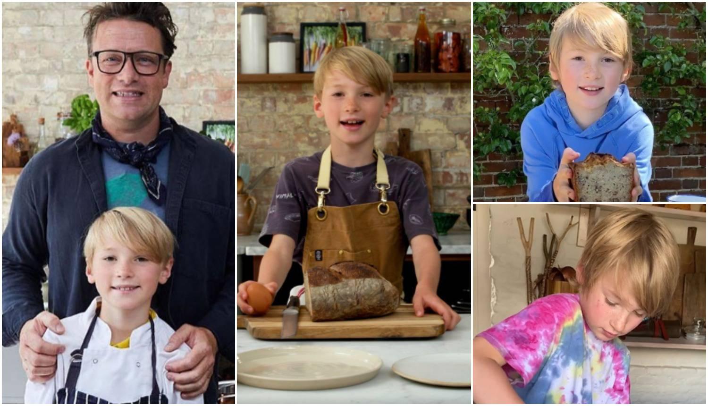 Pazi tata Jamie Oliver! Sin Buddy (9) fantastično kuha i kao stvoren je za kameru