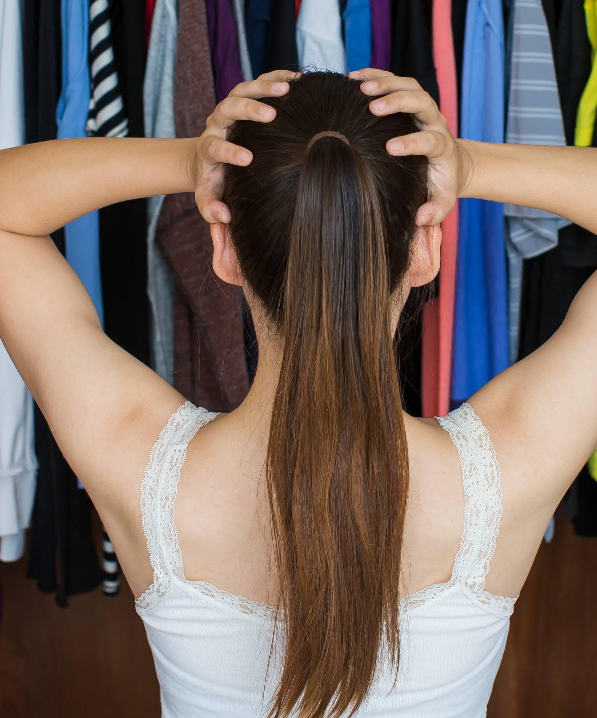 Zlatna pravila za ormar gdje je sva odjeća odmah na vidiku