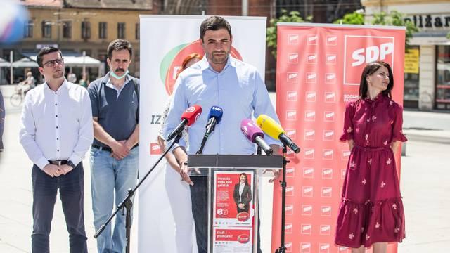 Osijek: Članovi RESTART koalicije družili se s građanima u 4. izbornoj jedinici