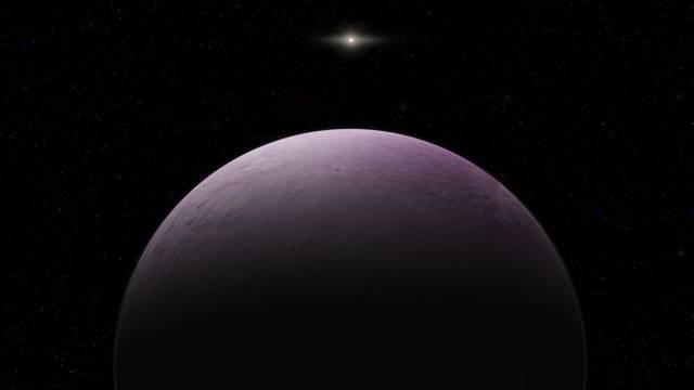 Ružičasti  planet: Za krug oko Sunca treba mu - 1000 godina!