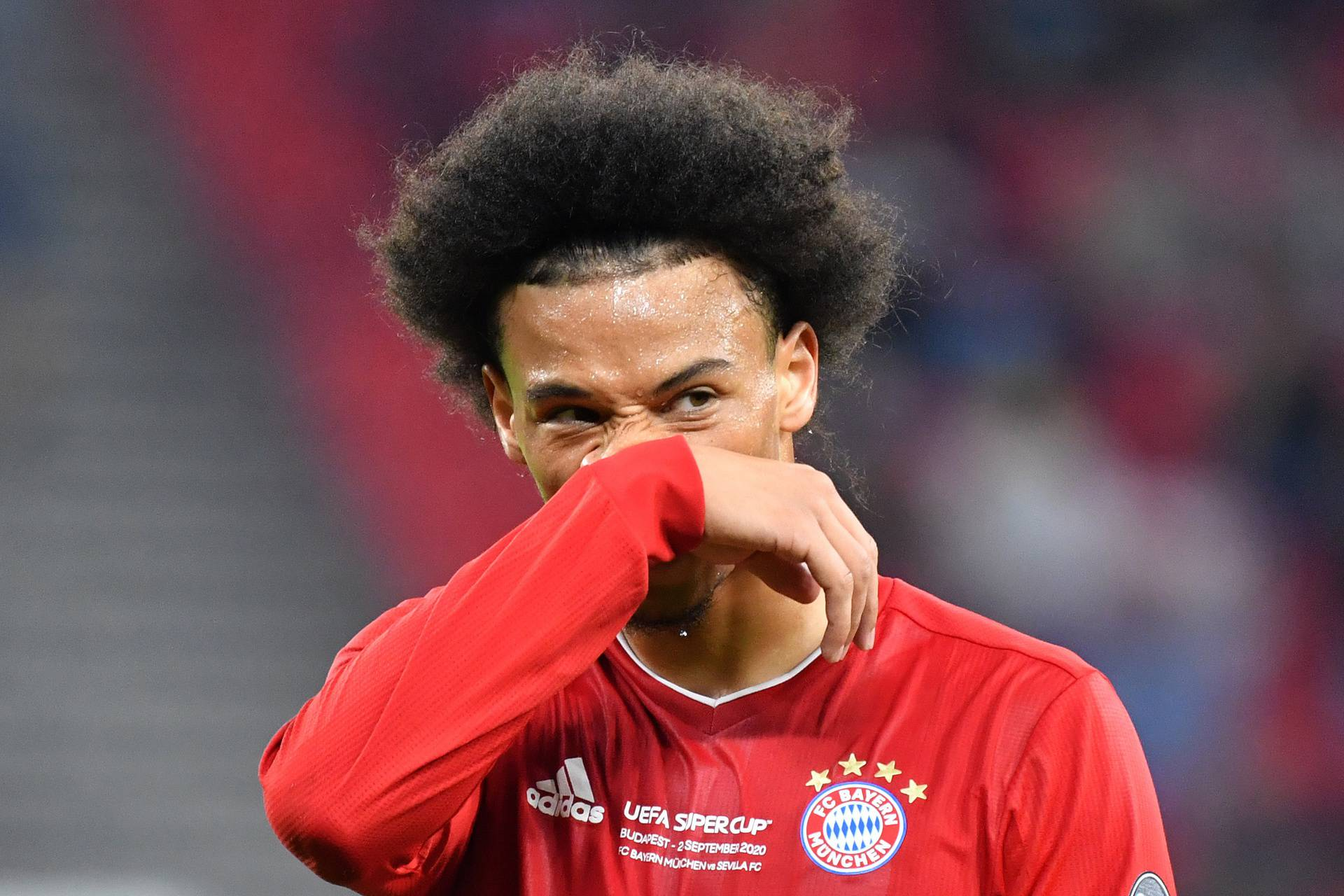 Leroy SANE (FC Bayern Munich) is injured due to a capsule injury.