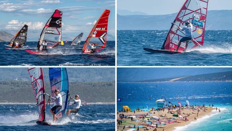 Sudionici svjetskog prvenstva u jedrenju na dasci oduševili su se plažom Zlatni rat na Braču