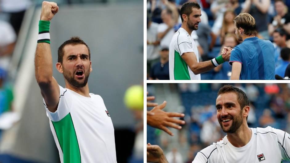 Tako se igra! Čilić se raspucao i ušao u četvrtfinale US Opena!
