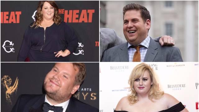 Kilogrami ih ne brinu: Postali su omiljeni u Hollywoodu i šire